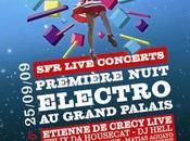 Première Nuit Electro Grand Palais programmation malade