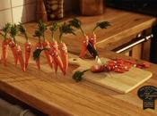 Restaurants Heureux comme carotte allait vers mort