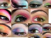 Concours maquillage: Couleurs improbables, proposition Myriam