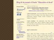 Minorités droit (Journée d'étude ISP, Cachan, Jeudi novembre 2009)