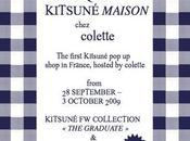 Boutique temporaire Kitsuné Maison chez Colette septembre octobre