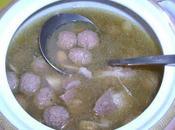 Mtouem (boulettes viande l'ail)