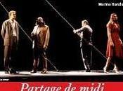 Partage midi Claudel théâtre Marigny