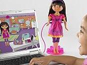 personnage Dora l'exploratrice vieillit devient interactif