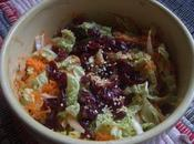 Salade chou chinois carottes: juste pointe d'exotisme