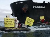 Greenpeace contre charbon Arctique
