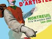 Guillaume Villaros participe ateliers portes ouvertes Montreuil 17-18 octobre 2009