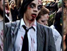 """Petit aperçu """"Stockholm zombie walk"""""""