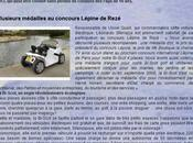Bi-Scot quadricycle lectrique lger