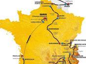 Carte Parcours Tour France 2010