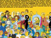 nouveau résidant Springfield Simpson s'agrandissent