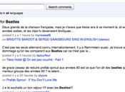 Google teste recherche dans commentaires Youtube