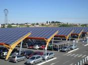 Projet centrale photovoltaïque parking Bordeaux