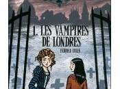 vampire Londres, Fabrice Colin