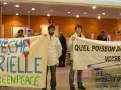 Opération d'étiquetage Grands Fonds Marins dans supermarchés France