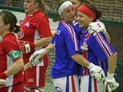 L'équipe France, vice-championne d'Europe