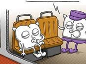 Dormir dans train RER...