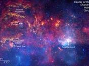 Voie Lactée observée trois grands télescopes NASA