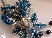 Passion Flower Bleue Argent