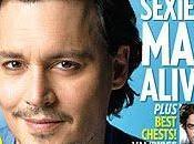 Johnny Deep l'homme plus sexy l'année