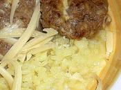 Boulettes viande fromages