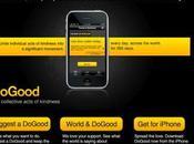 DoGood L'application Iphone pour sauver monde...