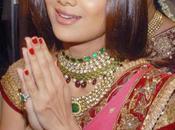 Shilpa pour être couverture d'un magazine mariée!