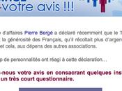 Pierre Bergé Téléthon, gestion crise.