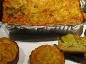 Cake poireaux oignons curry