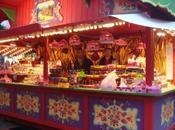 Serviettes bougies pâtisserie marché Noël Metz