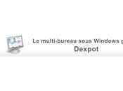 multi-bureau sous Windows grâce Dexpot
