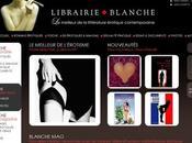 site pour éditions Blanche