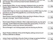 FixWin Utility Résoudre problèmes principaux sous Windows VISTA