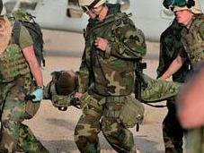Soldats blessés solution l'hibernation.