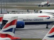 British Airways grève cadeau Noël