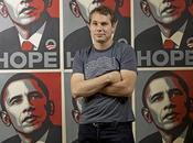 Shepard Fairey tacle Obama