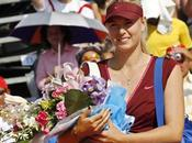 Maria Sharapova retour action