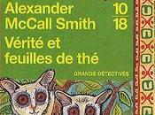Vérité feuilles Alexander McCall Smith