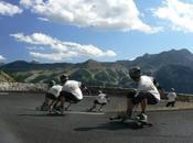 Freebord, snowboard l'asphalte