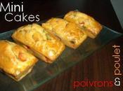 Mini cakes poivrons poulet