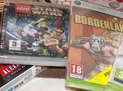 Darksiders, borderlands, nba2k10, lego star wars...