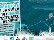 Manifestation pour sauvegarde l'estuaire Seine