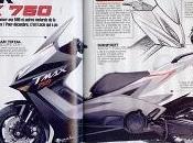 scooter Yamaha T-Max avec moteur cylindré