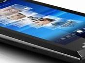 Test smartphone Sony Ericsson Xperia