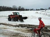 tracé Tabor sous neige