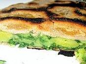 Parathas pommes terre épinards