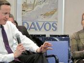 Christine Ockrent Davos,les banquier sont bien contents