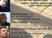 Concert manquer février