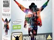 Samsung film Mickael Jackson This dans l'un disques durs externe