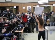 Ukraine boobs vert pour révolution orange